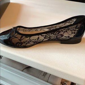 Marc Fisher Shoes - Marc Fisher Black Lace Flats